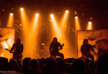 Picture of Septicflesh in concert by the Denmark music photography Kasper Pasinski