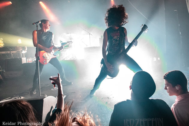 Picture of the rock band HaYehudim in concert taken by the gig photographer Omer Keidar