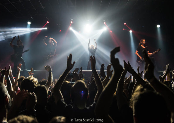 Picture of the Progressive Heavy Metal band Vuur in concert taken by music photographer Leca Suzuki