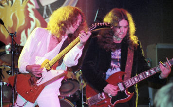 Picture of The Rossington Collins Band in concert taken by Bill O'Leary