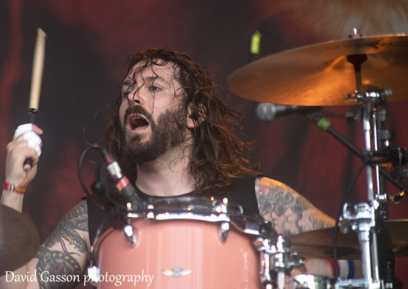 Picture of Skindred in concert at the INmusic festival in Croatia taken by festival photographer David Gasson