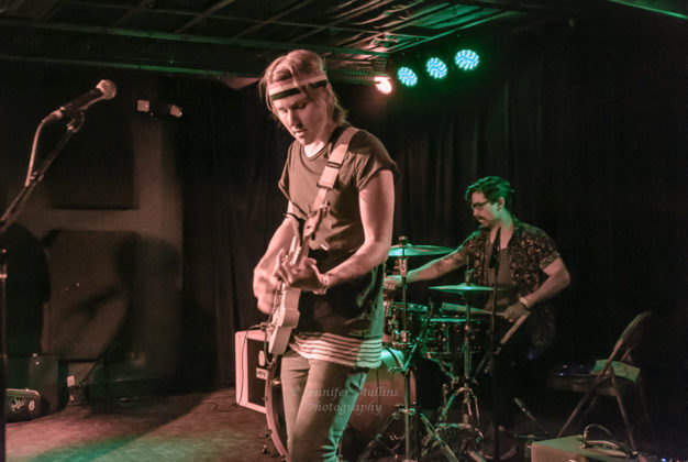 Picture of the Indie band The Breaking Pattern in concert taken by Jennifer Mullins