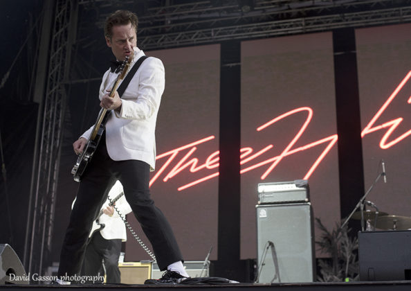 Picture of The Hives in concert taken by festival and gig photographer David Gasson