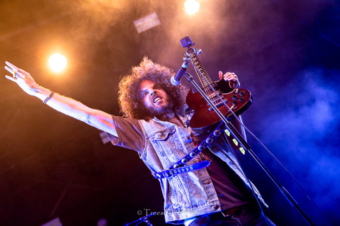 Picture of rock band Wolfmother in concert by Trees Rommelaere