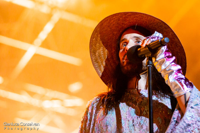 Picture of the American rock band Thirty Seconds to Mars in concert taken by Gianluca Conselvan