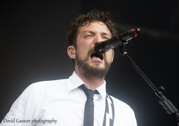 Picture of Frank Turner & The Sleeping Souls in concert by festival photographer David Gasson