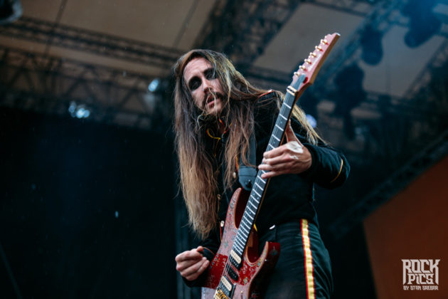 Picture of the Melodic Death Metal band Avatar in concert at the Hills Of Rock festival with photography by Stan Srebar