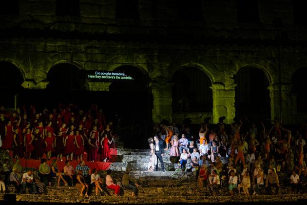Picture of the opera Carmen taken by Marko Hajdarovic