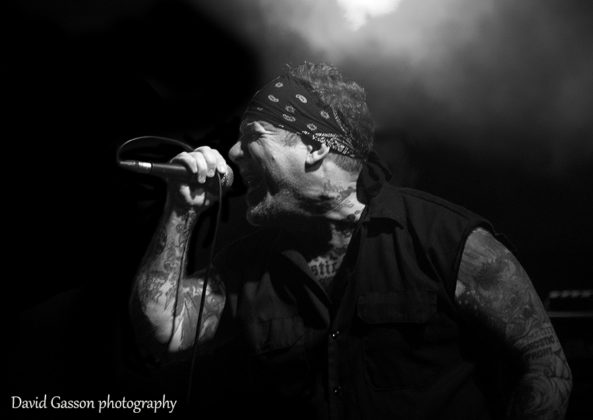 Picture of the punk band Agnostic Front in concert at the Viva La Pola Festival  in Pula by David Gasson