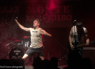 Picture of the punk band Career Suicide in concert at the punk festival in Croatia taken by David Gasson