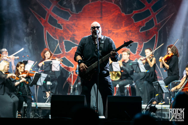 Picture of the band Rage & The Lingua Mortis Orchestra in concert by Stan Srebar
