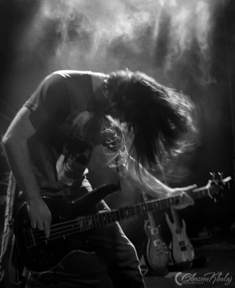 Picture of the Iran Thrash Metal band Padra in concert taken by Ghasem Khalaj