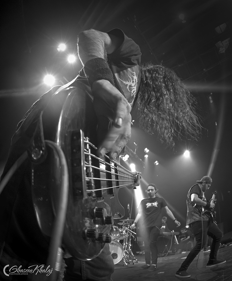 Picture of the Iran Metalcore band Satura in concert taken by Ghasem Khalaj