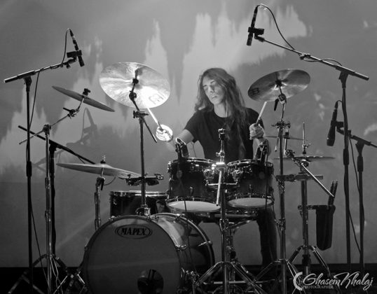Picture of the Iran Doom Metal band Eternal Candle in concert taken by Ghasem Khalaj
