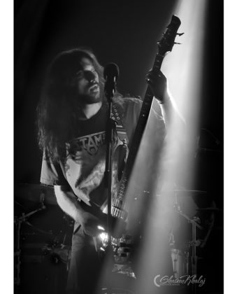 Picture of the Iran Thrash metal band 5GRS in concert taken by Ghasem Khalaj