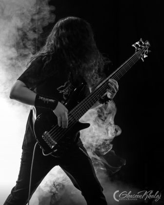Picture of the Iran Death metal band DEAtHtUNE in concert taken by Ghasem Khalaj