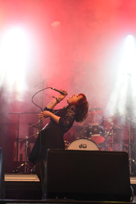 Picture of the rock band Black Mamba in concert taken by Lennart Håård