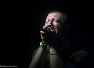 Picture of the punk band Totalni Promašaj in concert taken by David Gasson