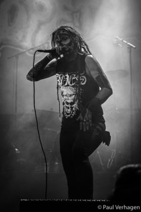 Picture of the band Dopethrone in concert by Paul Verhagen