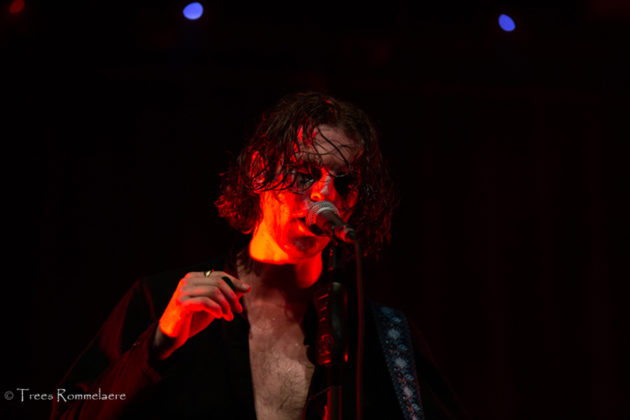 Picture of the punk rock band The Blinders in concert taken by Trees Rommelaere