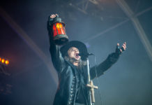 Picture of Moonspell in concert taken by Helder J F Martins