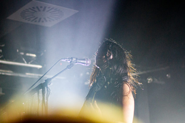 Picture of Chelsea Wolfe in concert taken by Helder J F Martins