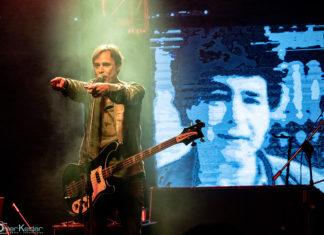 Picture of the Israeli musician Hemi Rudner in concert taken by Omer Keidar