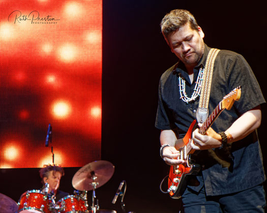 Picture from the Experience Hendrix concert taken by Ruth Preston
