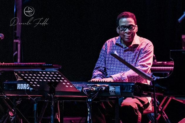 Picture of the Jazz musician Herbie Hancock taken by Daniele Fadda