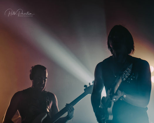 Picture of the band Chase Atlantic in concert take by Ruth Preston