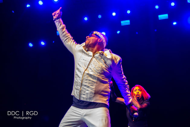 Picture of MC Hammer in concert taken by Dee Carter