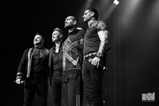 Picture of Boyzone in concert taken by Brittany Long
