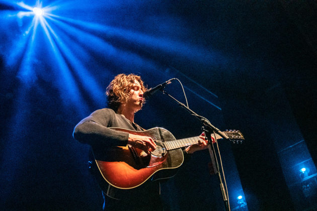 Picture of Dean Lewis in concert taken by Brittany Long
