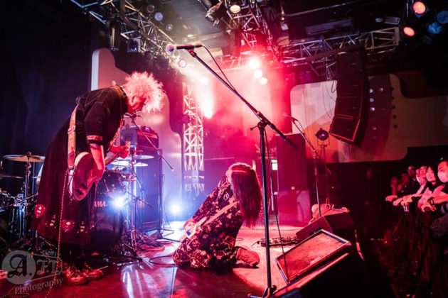 Picture of the Alternative Metal band Melvins in concert in Tokyo taken by Aki Fujita Taguchi