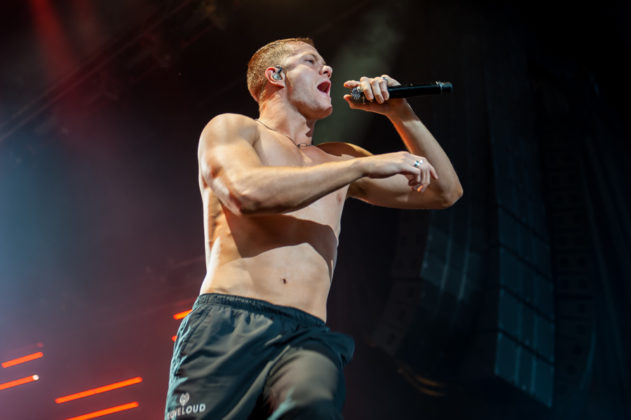 Picture of Imagine Dragons in concert taken by the Toronto concert photographer Orest Dorosh
