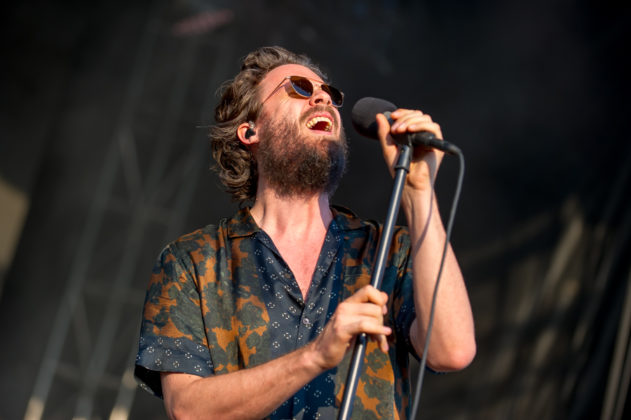 Picture of Father John Misty in concert taken by the Toronto concert photographer Orest Dorosh