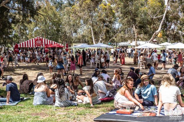 Picture of the Wine Machine Festival in Australia taken by Deb Kloeden