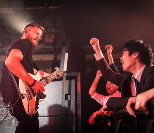 Picture of the Atlantic Wave band YOKKO in concert taken by Aki Fujita Taguchi