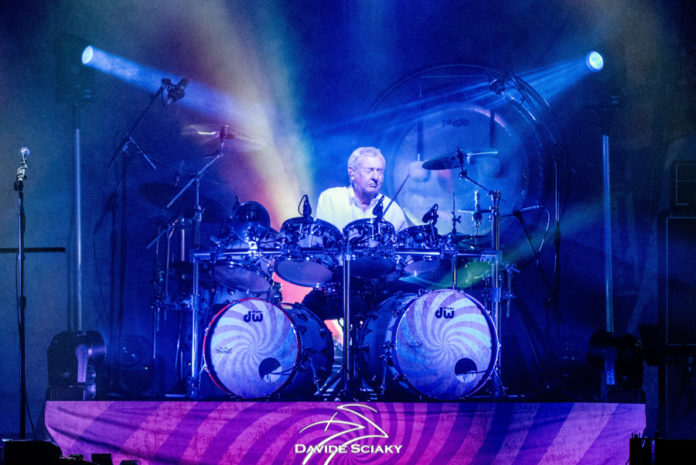 Picture of Nick Mason's Saucerful of Secret in concert taken by Davide Sciaky