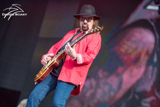 Picture of the band Lynyrd Skynyrd in concert taken by Davide Sciaky