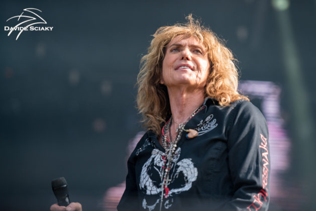 Picture of the band Whitesnake in concert taken by Davide Sciaky