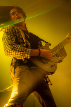 Picture of Sullivan King in concert taken by Jonathan Galeano