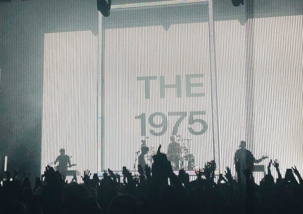Picture of The 1975 in concert taken by Kaitlyn Edwards