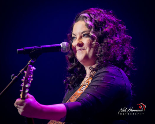 Picture of Ashley McBryde in concert taken by Nick Hammonds