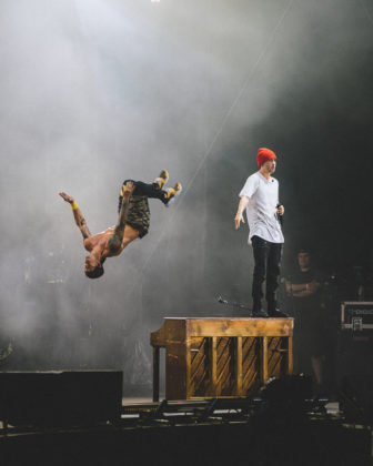 Picture of Twenty One Pilots in concert taken by Jerome Silvere