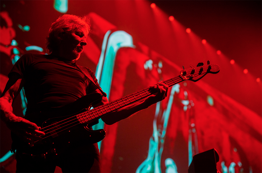 Picture of Roger Waters in concert taken by Leyda Luz