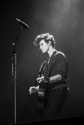 Picture of Shawn Mendes in concert taken by Leyda Luz
