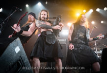 Picture of the band Skiltron in concert taken by Go Imai