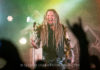 Picture of the band Korpiklaani in concert taken by Go Imai