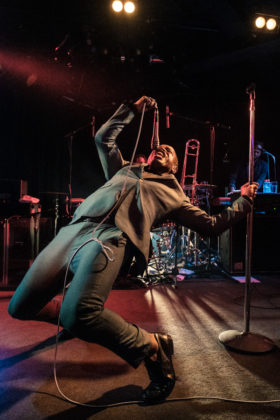 Picture of Vintage Trouble in concert taken by Darren Chan